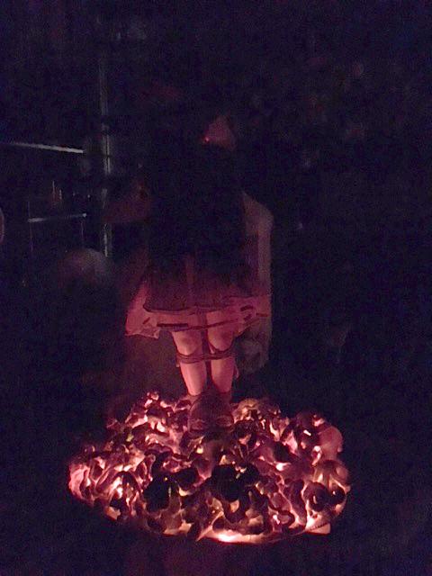 coal lit dark